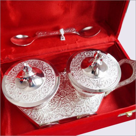 Silver Coated Bowl Set