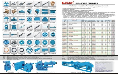 Sugarcane Crusher Manufacturer