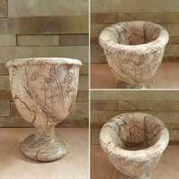 BROWN FOREST STONE PLANTERS