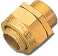 BW 2 Part Brass Cable Gland Indoor
