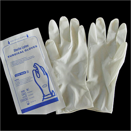 Disposable Sterile Latex Surgical Glove