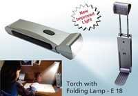 Torch with Folding Lamp