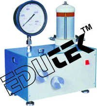 Dead Weight Type Oil And Water Constant Pressure System