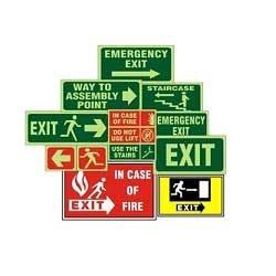 Plant Layout Safety Signage.