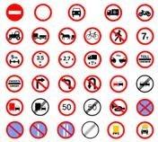 Prohibitory Road Signage