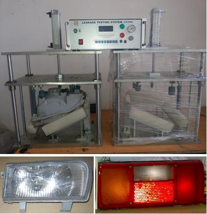Leakage Testing Machine for Head Lamps