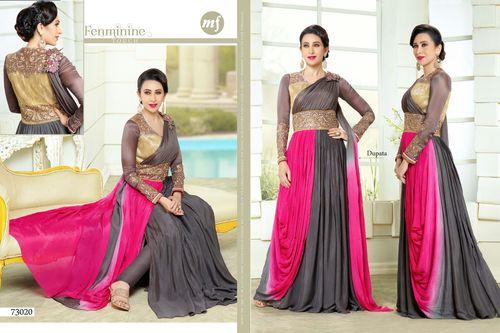 Ladies Anarkali Dress Material