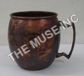 Aged Copper Barrel Mug