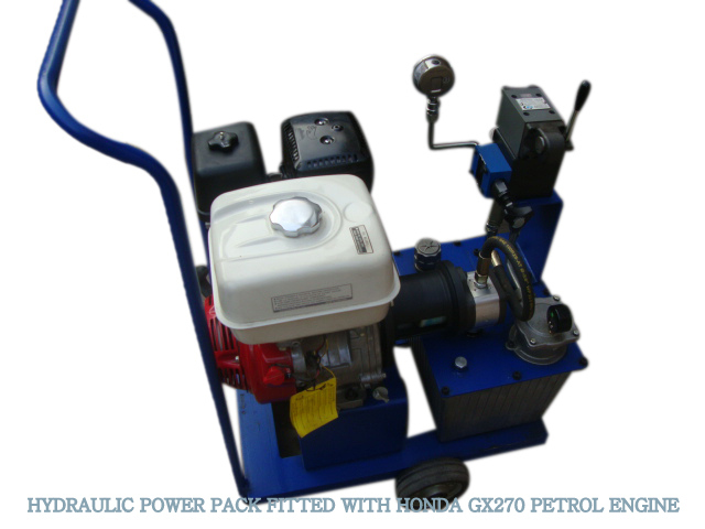 Hydraulic Power Pack with GX270 Honda Engine