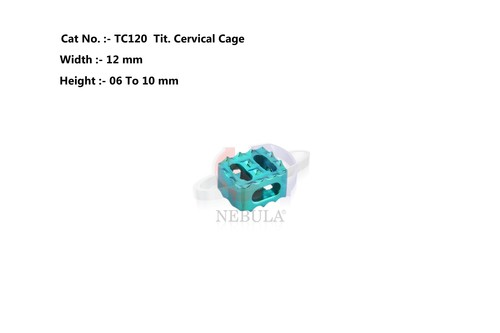 Tit Cervical Cage