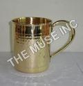 Brass Barrel Mug