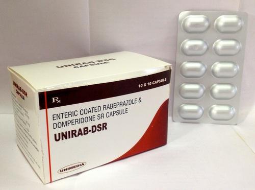 Rabeprazole with Domperidone DSR capsule