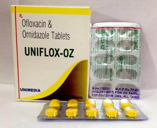 Ofloxacin with Ornidazole Tablet