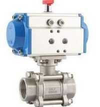 Actuator with 3 PC Ball Valve