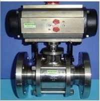 Actuator with SS Flange Ball Valve