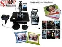 Heat Press Machine 2D