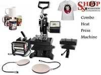 Combo Heat Press Machine