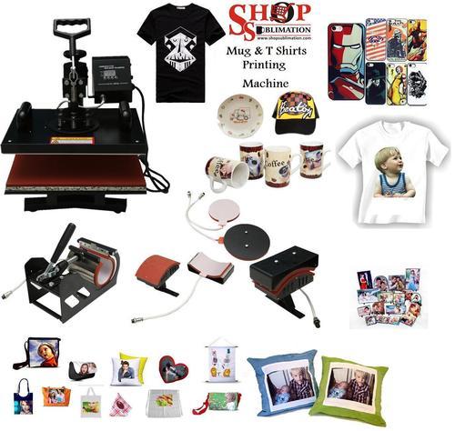 Mug and T Shirts Printing Machine