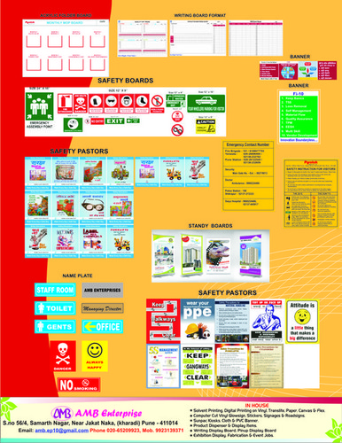 Safety Board & Posters