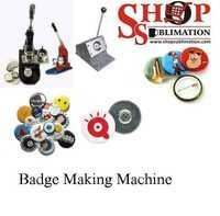 Badge Making Machine