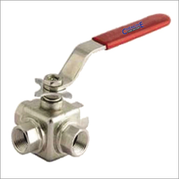3 Way Ball Valve Screwed End