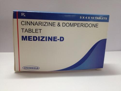 Cinnarizine with Domperidone Tab(MEDIZINE-D)