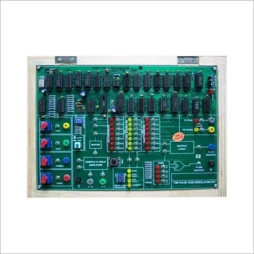 TDM Pulse Code Modulation Trainer