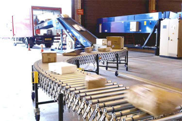 Industrial Truck Loading Conveyor