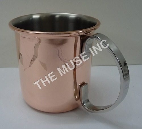 Copper Plated Mugs