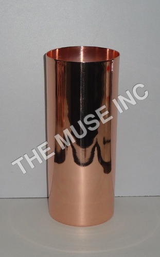 High Ball Glass Solid Copper