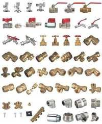 Brass Pneumatic Pipe Fitting