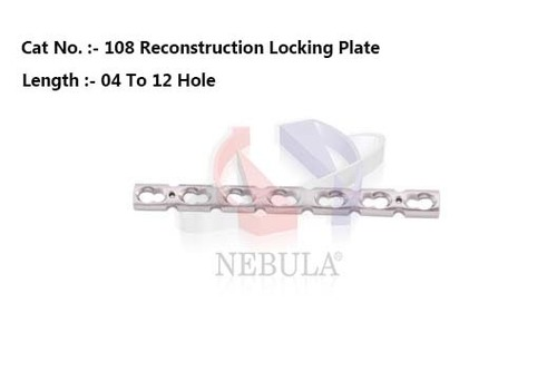 Reconstruction Locking Plate 3.5 Mm