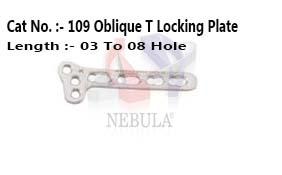 Oblique-T  Locking Plate  ( Left & Right )