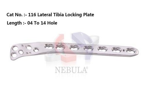 Lateral Tibial Locking Plate  ( Left & Right )
