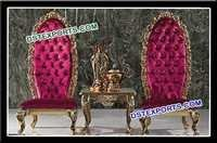 Asian Wedding Bride Groom Chairs