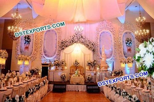 Wedding Stage Backdrop Photo Frame Panels