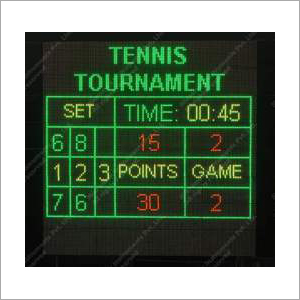 Electronic Scoreboard