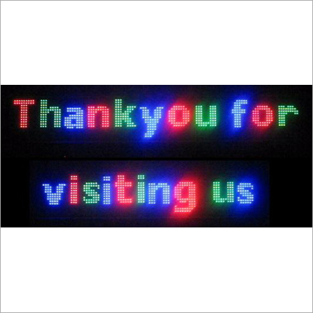 Moving LED Display Boards