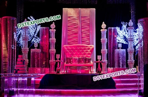 Asian Wedding Fabulous Crystal Stage