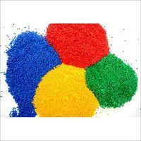 Reprocessed Colored PP Granules