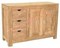 WOODEN SIDEBOARD 3 DRAWER 2 DOOR