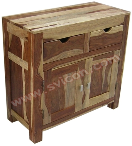 WOODEN SIDEBOARD 2 DRAWER 2 DOOR