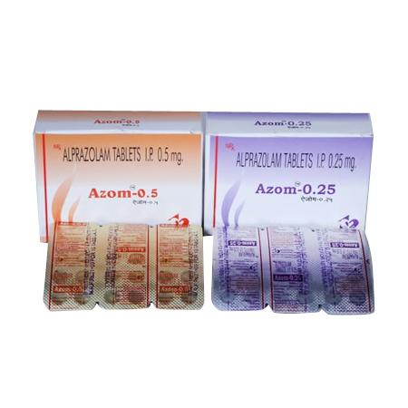 Alprazolam Tablets