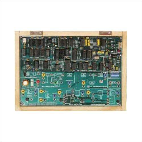 DPCM / ADPCM Modulation Demodulation Trainer
