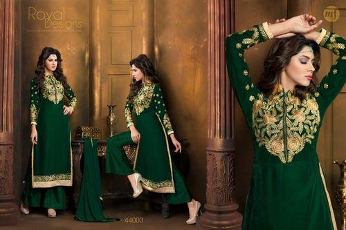 Velvet Designer Dress Material