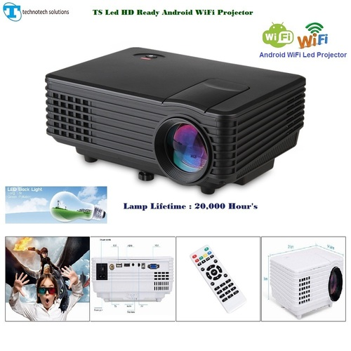 Led HD Ready Android wifi Projector