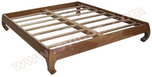WOODEN OPIUM BED
