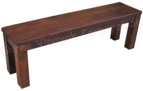 WOODEN BENCH Honey Color