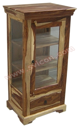 WOODEN DISPLAY CABINET / KITCHEN CABINET