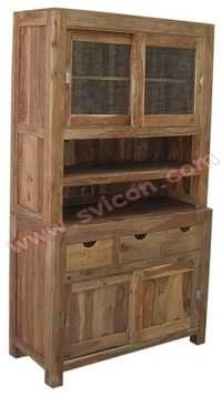 WOODEN KITCHEN CABINET 2 PART